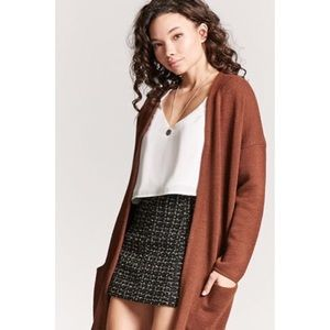Forever 21 Brown Cardigan S